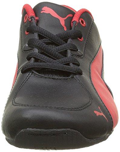 Puma Drift Cat 5 L Sf Nu - Zapatillas de deporte Niños Negro - Noir (Black/Rosso Corsa)