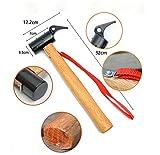 AHDA Outdoor Camping Tent Hammer Cast Steel Multi-Function Hammer