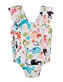 Funnycokid 18-24 Months Girl's Summer Swimsuit Cat