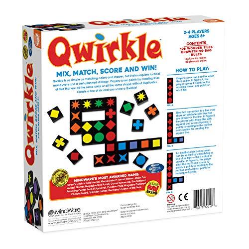 Mindware Qwirkle board game for kid