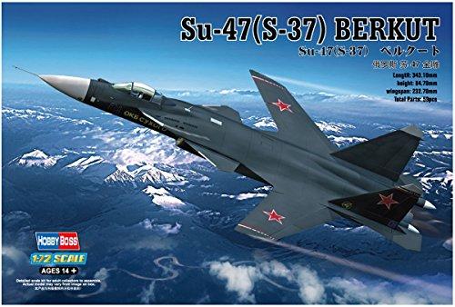 Hobby Boss Su-47 (S-37) Berkut Airplane Model Building (Fighter Aircraft Kit)