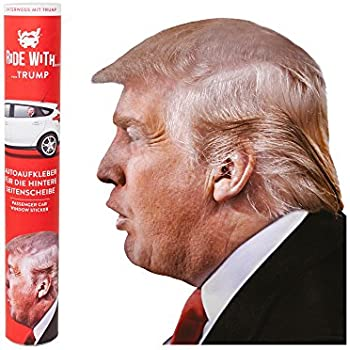 Amazon Com Thumbs Up Thumbsup Uk Ride With Trump Left