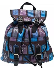 Doctor Who Tardis Police Public Call Box All Over Print Knapsack Backpack
