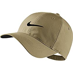Nike Men's Legacy91 Tech Adjustable Golf Hat (235 Khaki/Black, One Size)