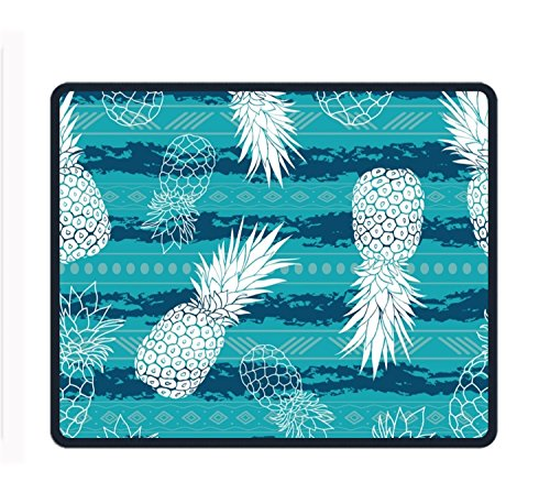 (Tribe Pineapples Mouse Pad/Mat Stitched Edges Non-Slip Rubber Mousepad 11.89.850.12)