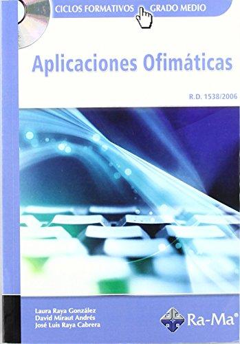 Aplicaciones Ofimaticas (Incluye Cd) by Rafael Fernandez (Folleto) 1 ene 2008