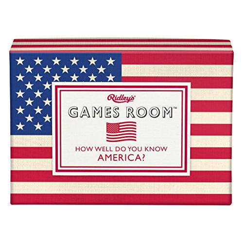 America Trivia - Ridley's Games Room How Well Do You Know America Trivia Deck Quiz Card Guess Game