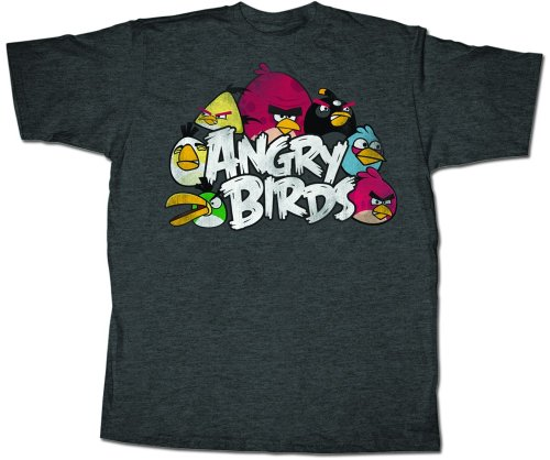 Angry Birds 'The Nest' T-shirt (XX-Large, Black)