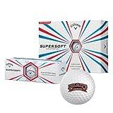Colgate Callaway Supersoft Golf Balls 12/pkg 'Lacrosse'