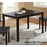 Ansa Dining Table in Black by Price Discounts