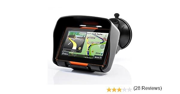 DracoTek Terrain 4 GPS para motos de 4.3