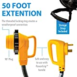 Camco 50' PowerGrip Extension Cord with
