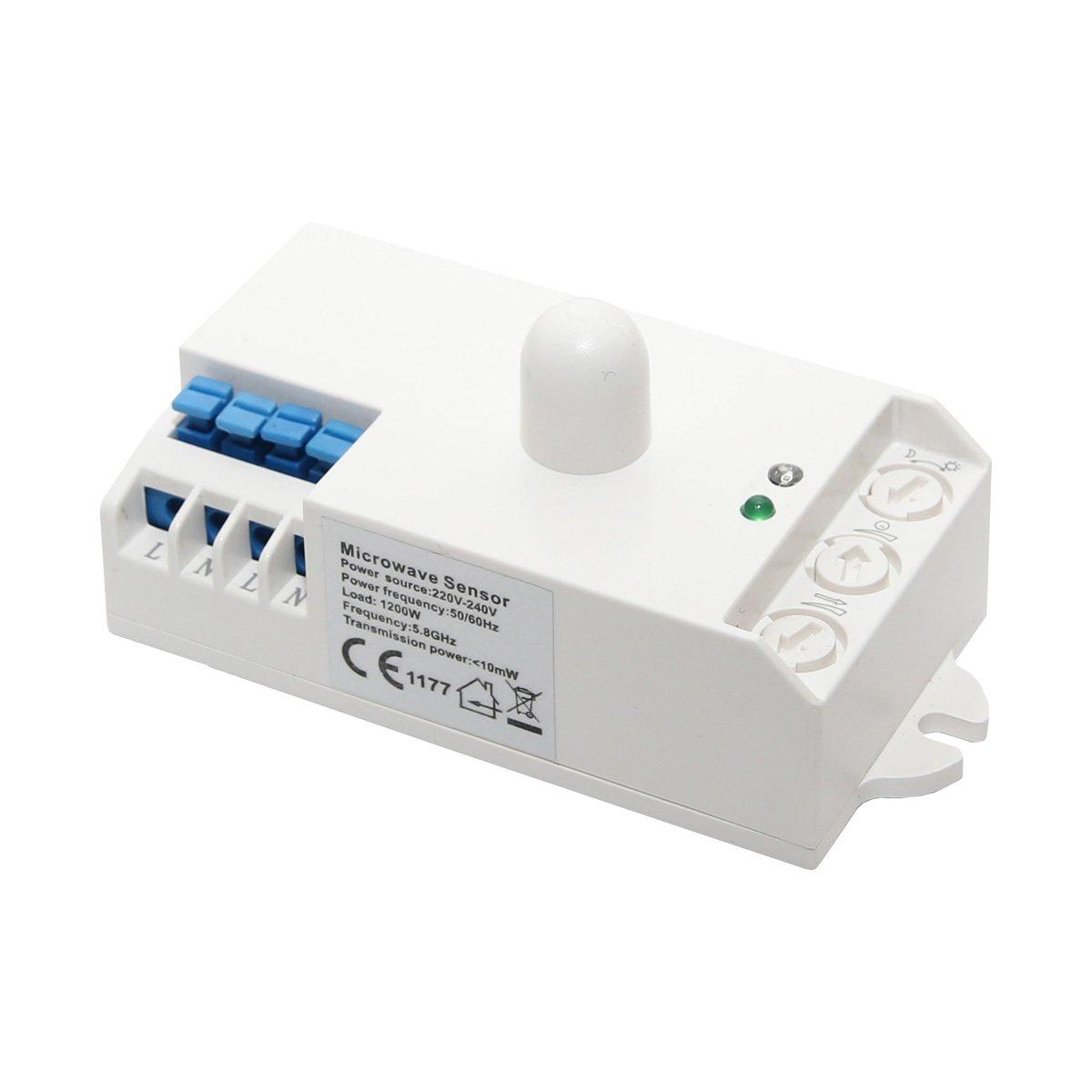 Lowenergie - Sensor de ocupación para microondas: Amazon.es ...