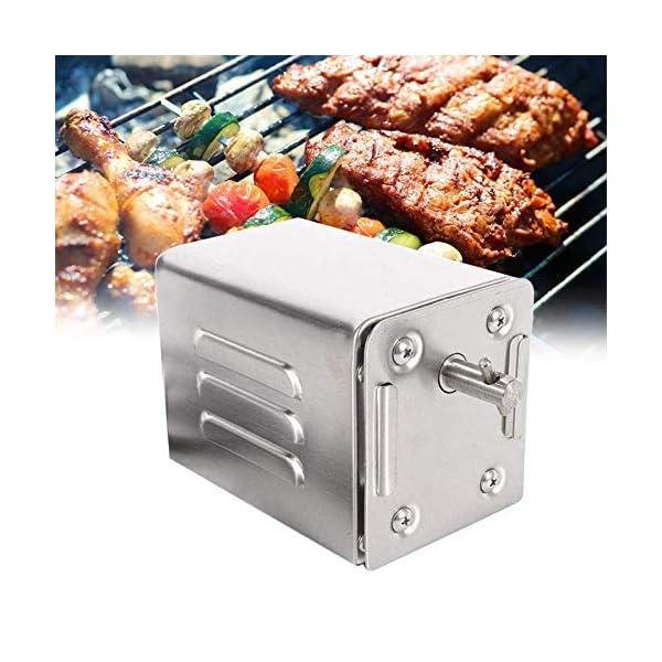 4YANG Acciaio Inox Barbecue Grill girarrosto Motore Motore girarrosto a griglia da 70 kg BBQ Roaster Motore Elettrico… 1 spesavip