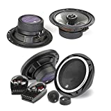 JL Audio C2-650 450W 6.5'' 2-Way Evolution C2 Series Component Car Speakers System + JL Audio C2-650x 450W 6.5'' 2-Way Evolution C2 Series Coaxial Car Speakers - Bundle Speaker Package