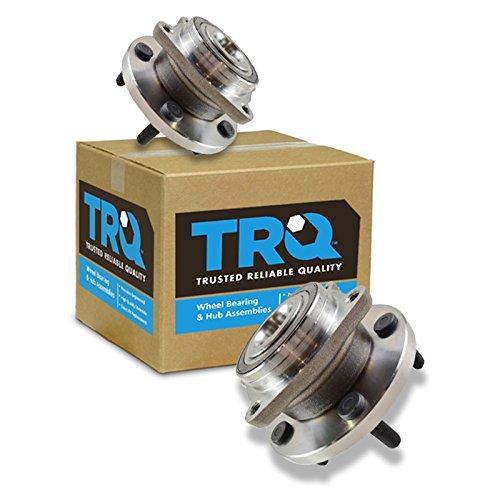TRQ Wheel Hub & Bearing Front Left & Right Pair for Chrysler 200 Sebring ()
