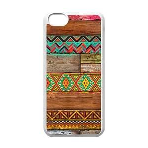 T-TGL(RQ) DIY New Fashional hard phone Case for Iphone 5C custom Aztec Wood case