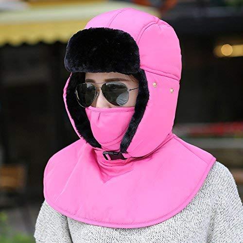 Roja Frío Gorro Viento Gorra Dvfgsxxht Hombre Rojo Algodón Para color Rosa De Al Invierno Mujer Ciclismo Resistente gwqCxaAq8