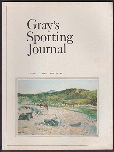 GRAY'S SPORTING JOURNAL Vol 6 #1 Oliver Kemp Blue Marks Irish Salmon Winter 1981 (Irish Salmon)