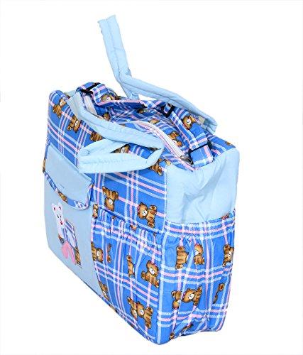 Kuber industrias de mamá de bolsa, bolsa de transporte, bolsa de pañales, bolsa de viaje (plegable patrón)