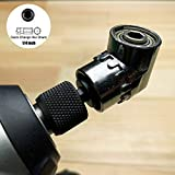 AUTOTOOLHOME 105 Degree Right Angle Driver Drilling and Driving Power Screwdriver Drill Attachment Adapter with 1/4-inch Hex Quick Change Drive and Magnetic Bit Socket