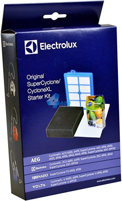 Electrolux VCSK4 - Kit de 3 filtros y 4 sacos para aspiradoras AEG ...