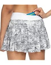QUEENIEKE Women Ultra Skort with Athletic Shorts Tennies Skort Gym Sports 80322