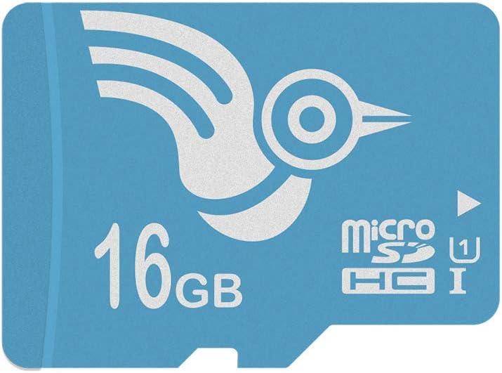 ADROITLARK Class 10 Memoria Flash 16GB MicroSDXC U1- Tarjeta de Memoria (Adaptador Gratuito, 16 GB, MicroSDXC, Blue MicroSD, UHS-I): Amazon.es: Electrónica
