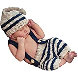 ecc2e8978 Pinbo Newborn Baby Knit Costume Outfits Photography Props Animal ...