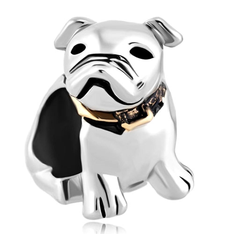 Lucky Charms Cute Puppy Pet Pug Dog Animal Charm Bead Fits Pandora Charm  Bracelet: Amazon.co.uk: Jewellery