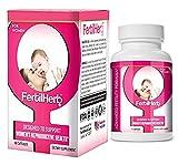 Best Fertility Pills - FertilHerb® for Women Fertility Supplement. Doctor Recommended, All Review