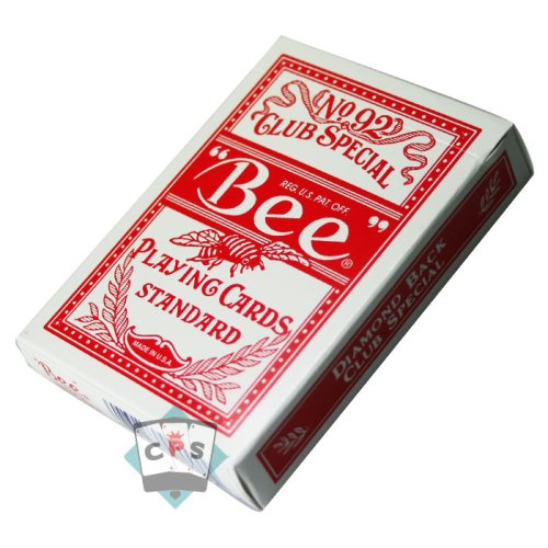 3 opinioni per Mazzo di carte Bee- Dorso Rosso (US Playing Card Company)