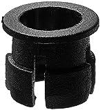 Honbay 100 Pieces Black Plastic 5mm LED Holder LED