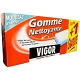 Vigor - 5064 - Goma Limpiadora - Pack de 3 + 1 goma de mascar sin