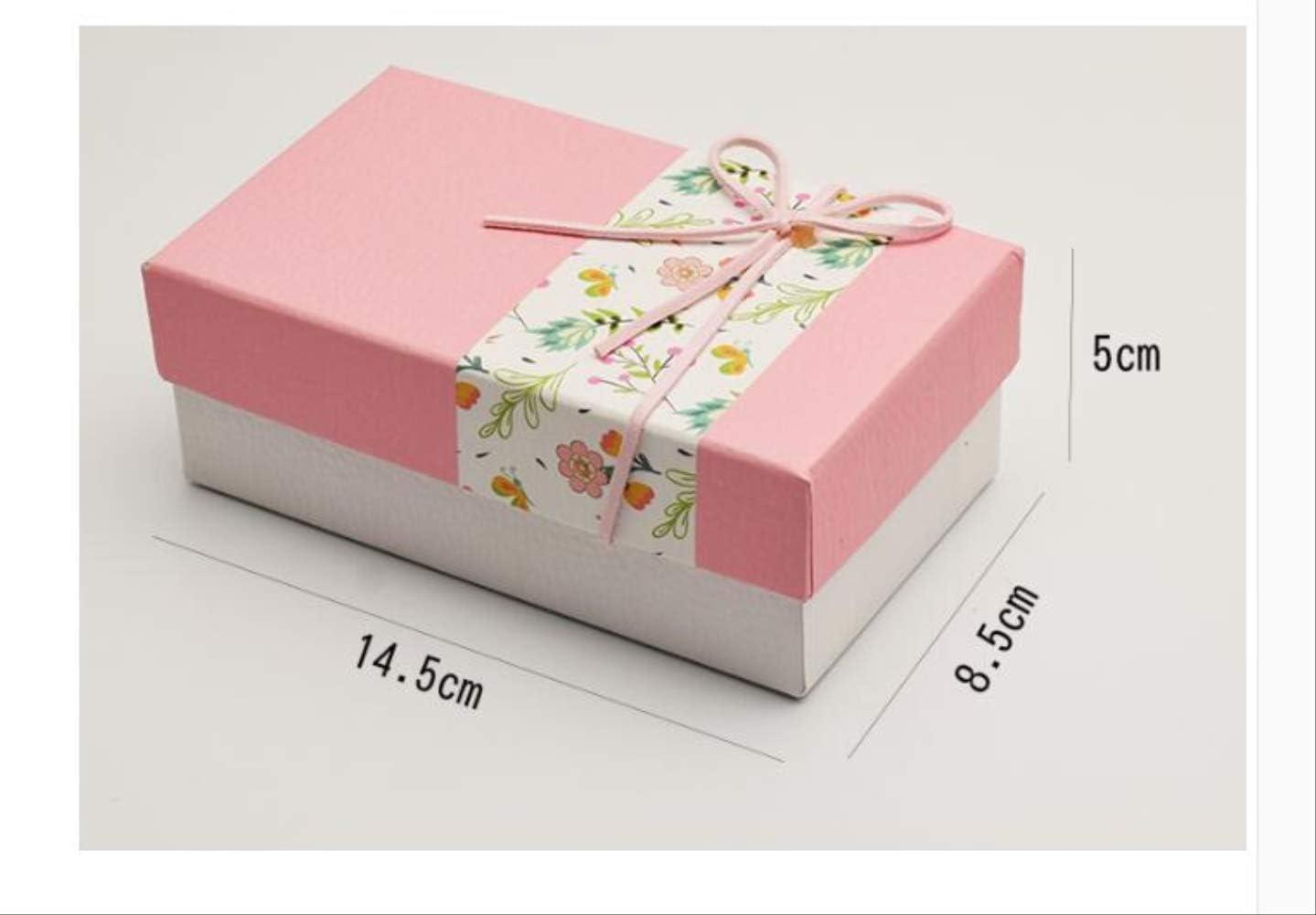 Caja de regalo Cumpleaños rectangular Embalaje simple Cuadrado Cartón exquisito Moda linda Hermosa y duradera Grueso Gran capacidad Multifunción Rosa: Amazon.es: Alimentación y bebidas