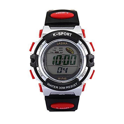 W-F45 Reloj de pulsera - LASIKA Reloj de pulsera digital para Natacion Deportes de