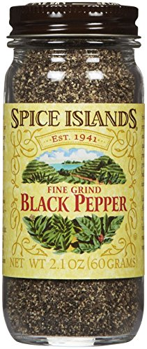 - Spice Island Black Fine Ground Pepper - 2.1 oz
