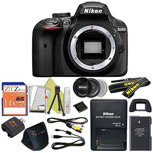 Nikon D3400 24.2 MP Digital SLR Camera (Body Only, Certified Refurbished) Review