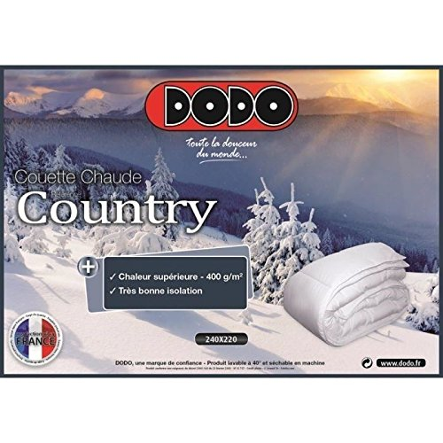 Dodo Couette Chaude 400g Country 220x240cm Amazonfr Cuisine Maison
