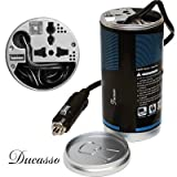 DUCASSO CAN SHAPED CAR INVERTER & USB+CAR CHARGER FOR MOBILE +LAPTOP