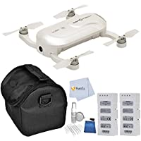 ZeroTech DOBBY Pocket Drone includes 1 Extra ZeroTech Flight Battery + Medium Carrying Case + 5 Piece Cleaning Kit & Microfiber Cleaning Cloth