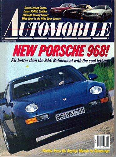 Automobile Magazine, September 1991 (Vol. 6, No. 6)