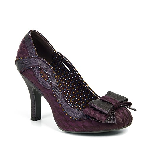 IVY (BURGUNDY) by Ruby Shoo - Size 4/37
