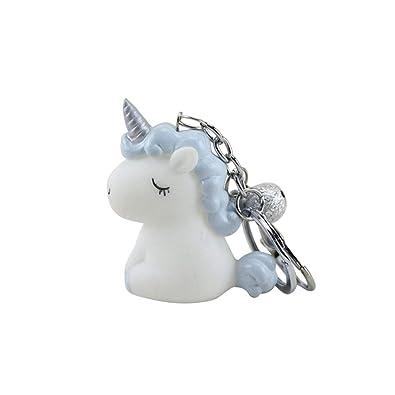 Amazon.com: STOBOK - Llavero con diseño de unicornio de ...