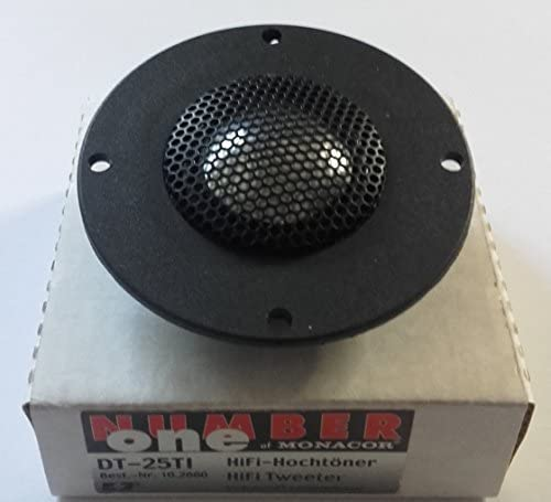 Monacor Dt 25 Ti Lautsprecher Für Auto 100 W Elektronik
