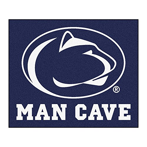 NCAA Penn State Nittany Lions Man Cave Tailgater Rectangular Mat Area Rug