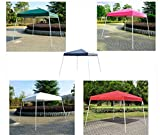 8' X 8'Outdoor Slant Leg Ez Pop Up Canopy Wedding Party Tent Folding Gazebo