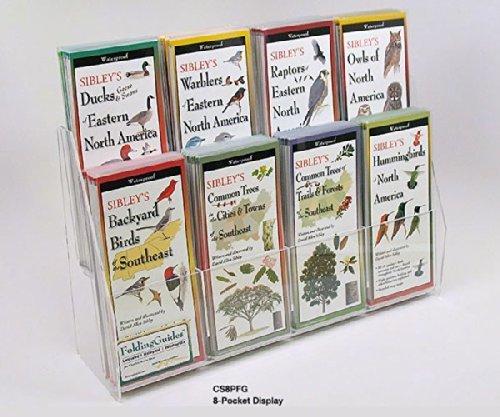 Steven M. Lewers & Associates 8 Pocket 2 Tiered Display (Folding Guides) LEWERSCS8PFG