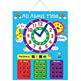 """""""All About Time"""" Magnetic Learning Board"""