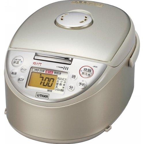 タイガー IH炊飯ジャー(5.5合炊き) ベージュTIGER 炊きたて JKH-V100-C   B008GM9OBU